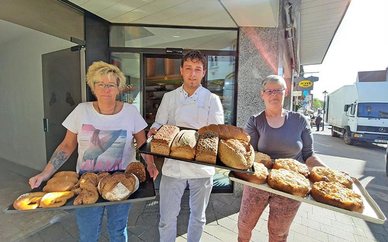Bäckerei Mellies eröffnet in Blomberg