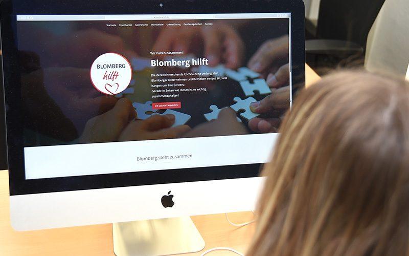 »Blomberg hilft« lokalen Betrieben