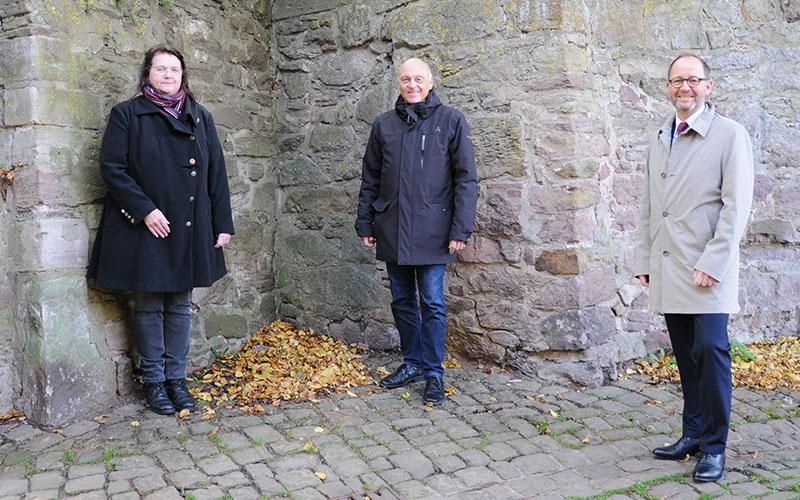 Historische Stadtmauer wird saniert