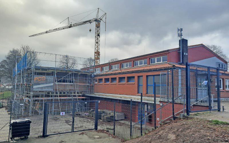 Bauarbeiten schreiten planmäßig voran
