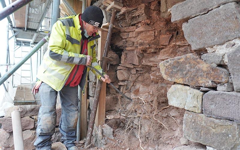 Schäden an der Stadtmauer größer als gedacht