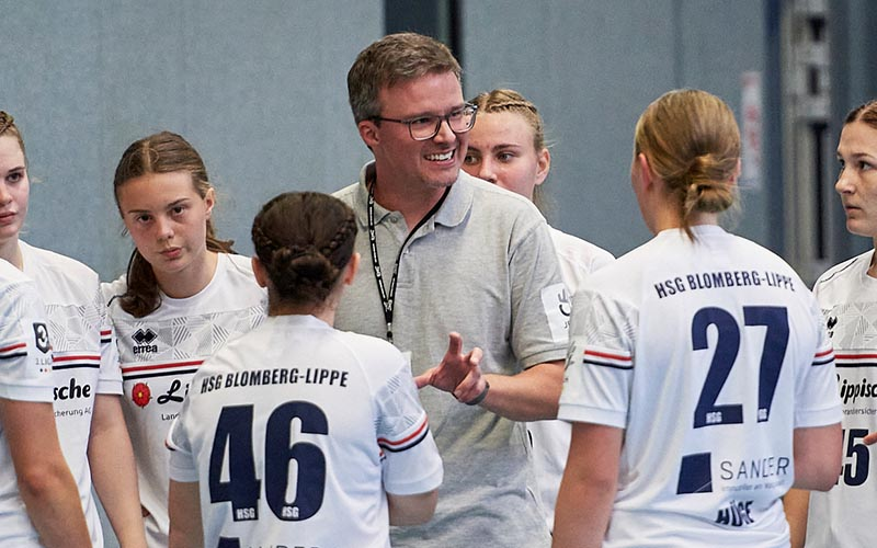 Björn Piontek hält HSG die Treue