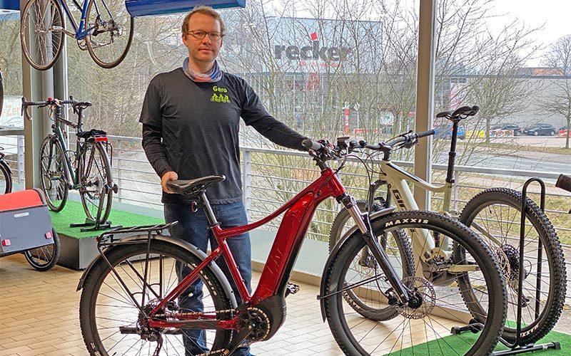 E-Bikes liegen weiterhin im Trend