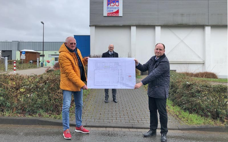 Sporthallen-Umbau startet Ende Mai