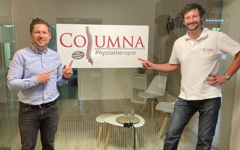 Columna ist neuer HSG-Partner