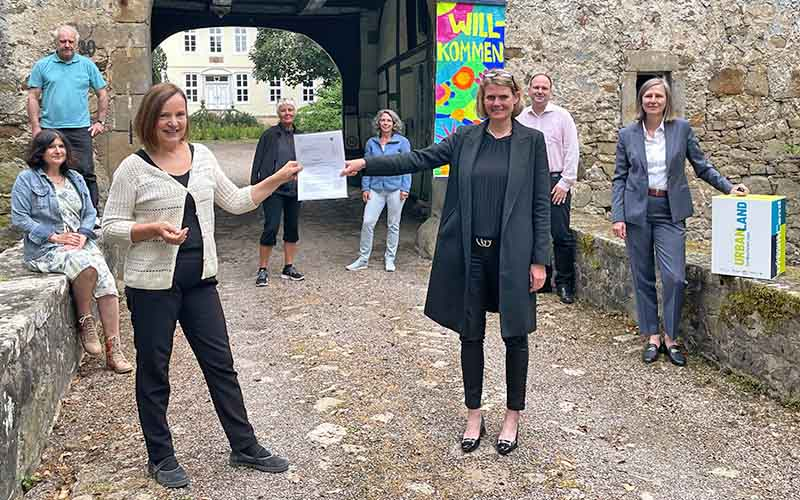 Wasserschloss erhält 250.000 Euro Förderung