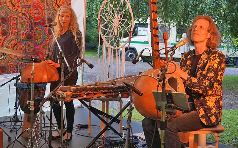 Klang und Bewegung im Schlossgarten