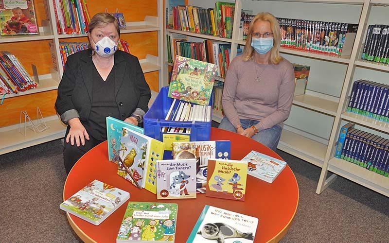Bibliothek hält der Pandemie stand